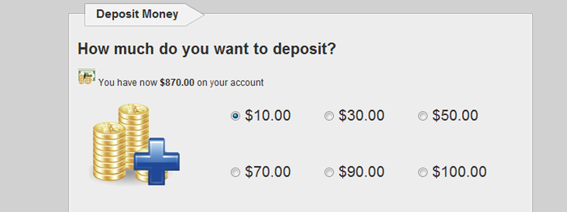 Deposit script